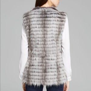 """Via Spiga """"Parma"""" faux fur vest"""